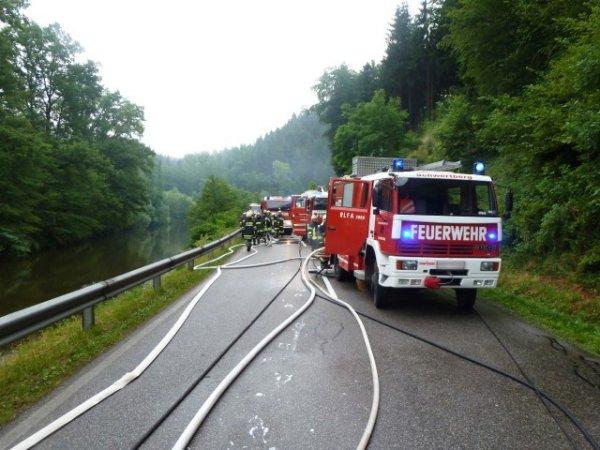 Brand vom 25.06.2014     (C) FF Winden-Windegg (2014)